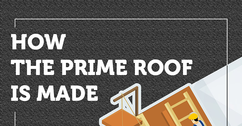 How The Prime Roof Is Made (Infographic)