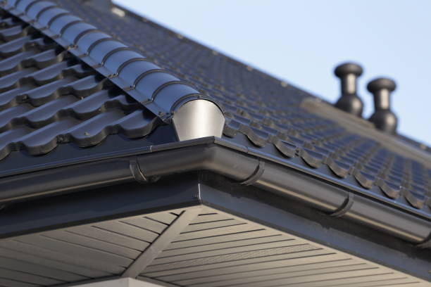 Metal Roof On Residential Home