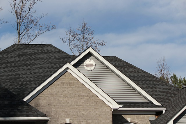 shingle roof residential project
