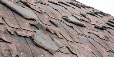 roof shingles that are old and damaged