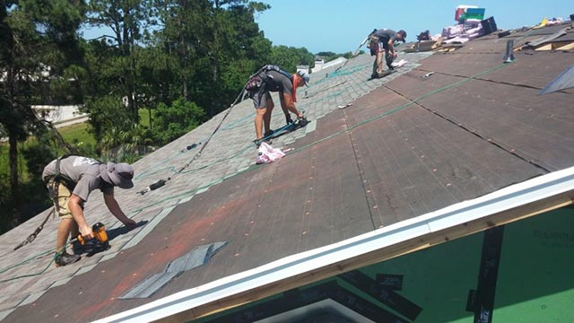 reroof of jacksonville home