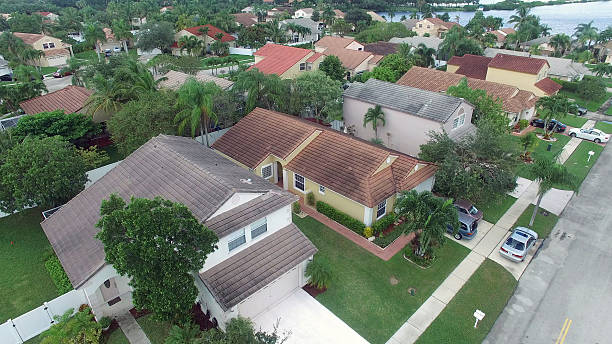 Many Roofs Of Florida Single Family Houses